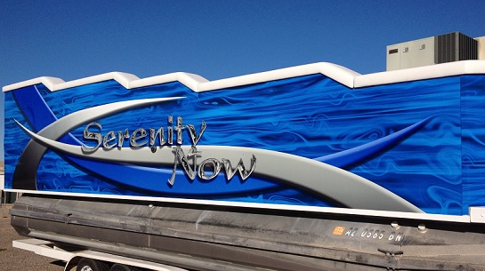 Boat Wraps and Vehicle Wraps